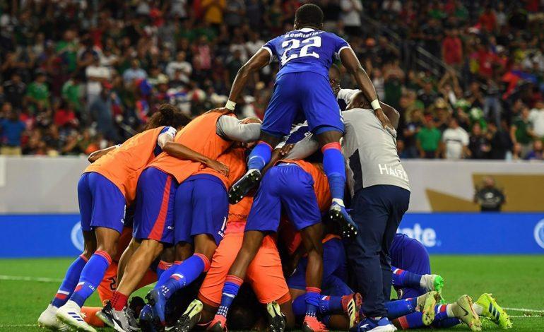 Haití hace historia y avanza a semifinales de Copa Oro