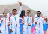 México se lleva bronce en triatlón por equipos