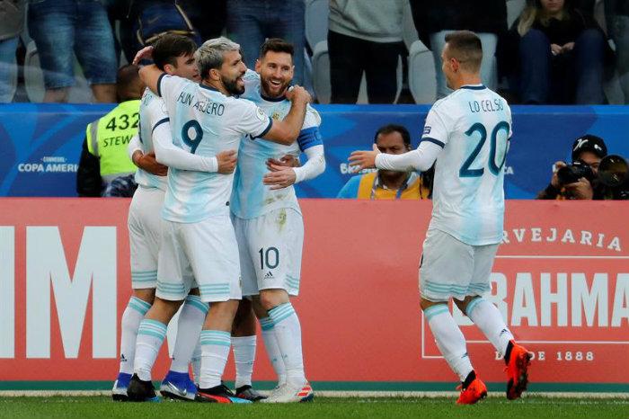 Argentina se queda con el tercer puesto de Copa América Brasil 2019