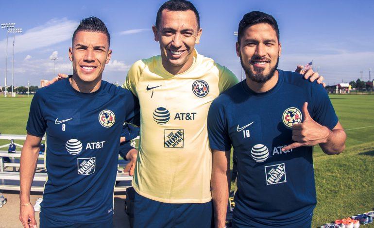 Marchesín, Valdez y Mateus reportaron con América