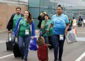 Inicia llegada de atletas a Lima 2019