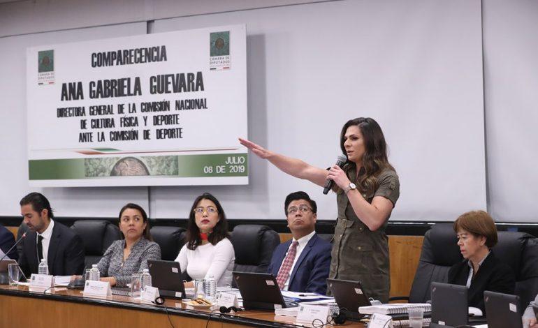 Guevara evita hablar de Fodepar ante diputados