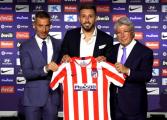 Herrera es presentado con el Atlético de Madrid