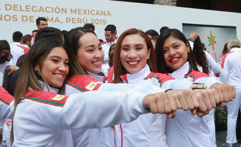 A Lima 2019, segundo contingente mexicano