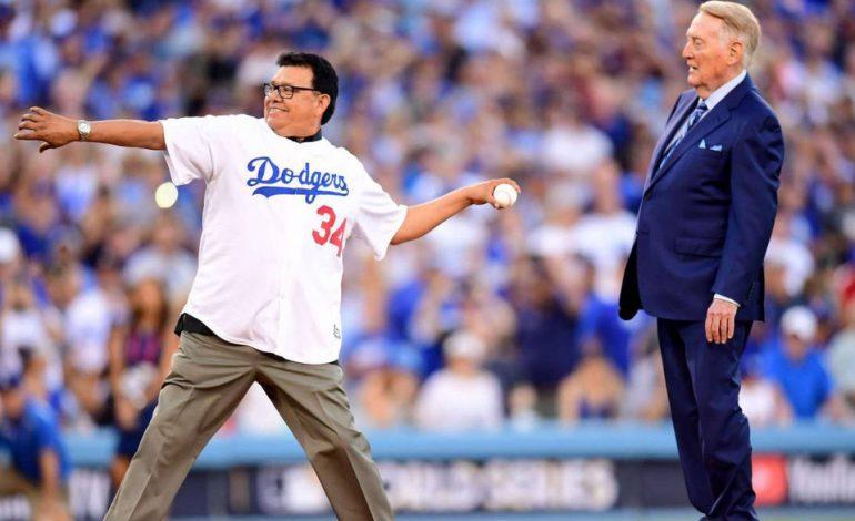 """El """"Toro"""" Valenzuela nueva Leyenda de los Dodgers"""