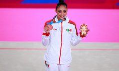 Díaz se lleva el bronce en gimnasia rítmica