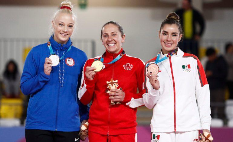 Dafne Navarro se queda con bronce en Lima
