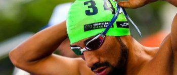 Grajales y Pérez terminan 14 y 22 en triatlón clasificatorio olímpico de Tokio