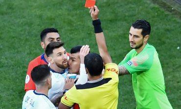 Conmebol suspende a Messi por tres meses