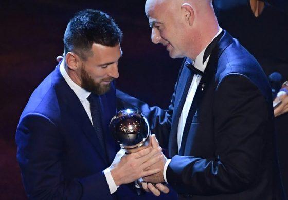Messi gana su premio The Best más inesperado