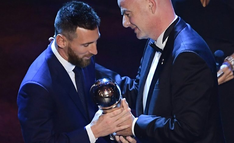 Messi gana su premio The Best más inesperado