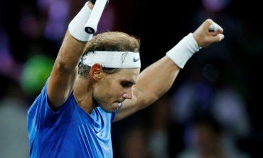 Rafael Nadal regresa a los entrenamientos