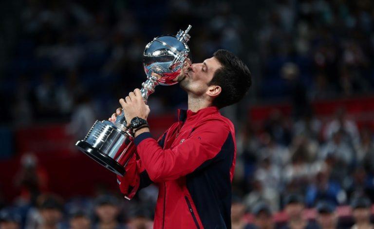 Djokovic, Nadal y Federer, al frente de la ATP