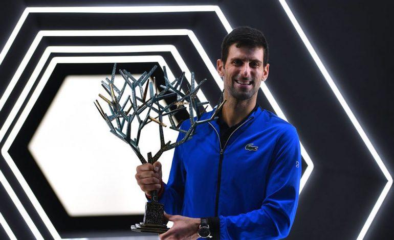 Djokovic impone su ley y gana el Masters 1000 de París por quinta vez