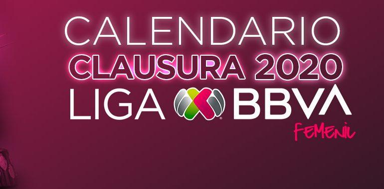 Listo el calendario para Clausura 2020 de Liga MX Femenil