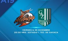 ¡En Vivo! Final de Vuelta: Alebrijes vs Zacatepec
