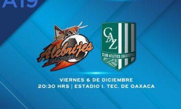 ¡En Vivo! Final de Vuelta: Alebrijes vs Zacatepec