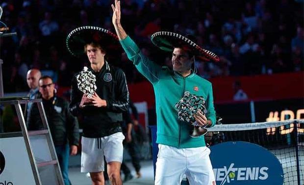 Tras éxito de Federer-Zverev, The Greatest Match seguirá en México
