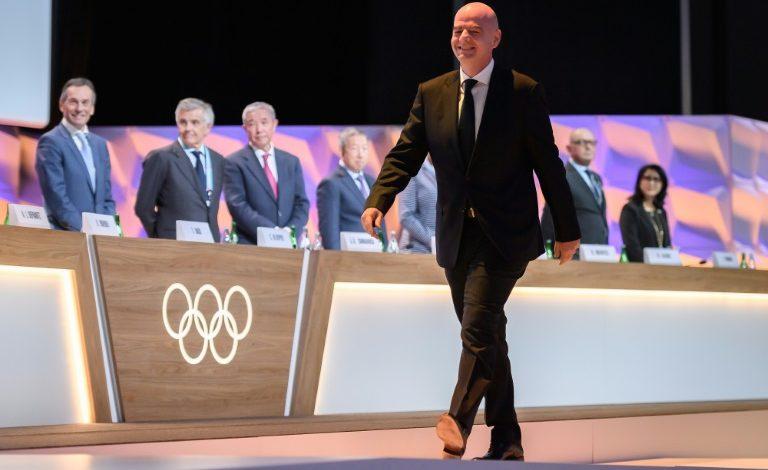 Gianni Infantino es elegido como miembro del COI