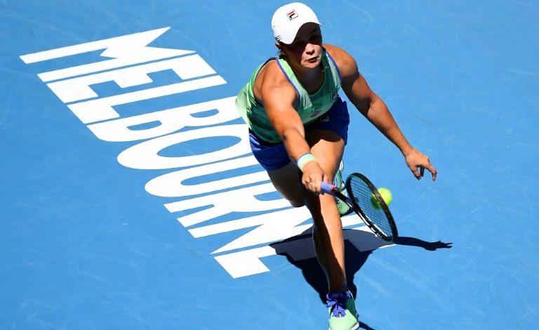 Barty encabeza las posiciones en la clasificación de la WTA