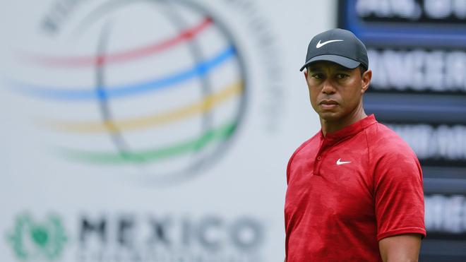 Tiger Woods no estará en el México Championship de golf