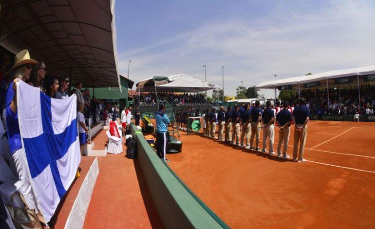 México dice adiós al Grupo I de Copa Davis