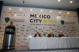 Presentan el Challenger CDMX Open en el deportivo Chapultepec