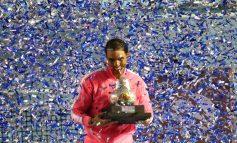 Rafael Nadal sigue brillando en Acapulco, gana su tercer título del AMT