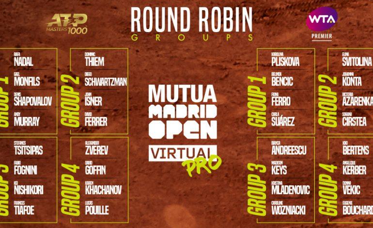 El Mutua Madrid Open Virtual Pro busca sus campeones