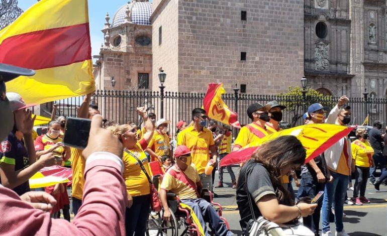 Aficionados de Monarcas se manifiestan en Morelia