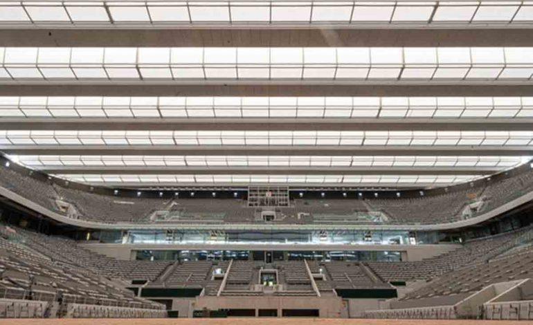 Concluyen remodelación de cancha principal de Roland Garros