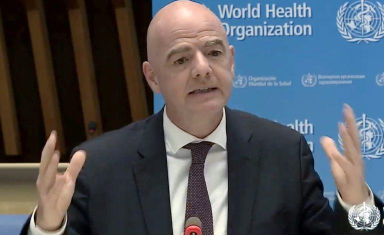 FIFA presentará plan de ayuda financiera para el fútbol