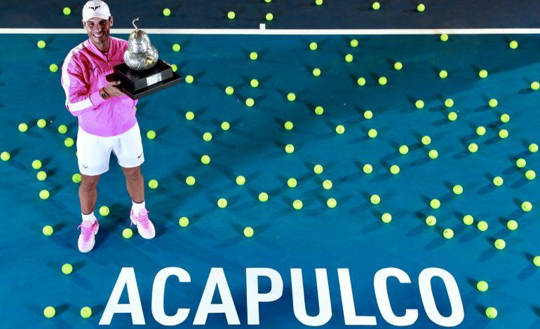 Rafael Nadal cumple 34 años y el mundo del tenis lo festeja