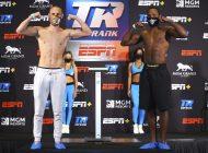 Cancelan pelea de boxeo en Las Vegas por un caso positivo de coronavirus