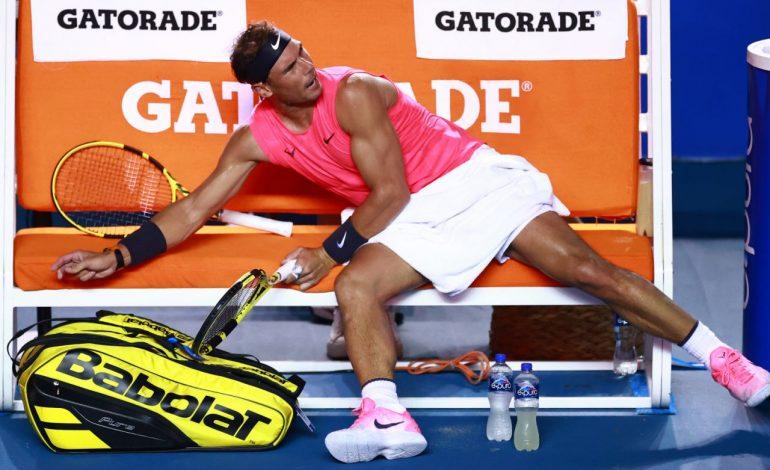 Nadal pone en entredicho su participación en Roland Garros