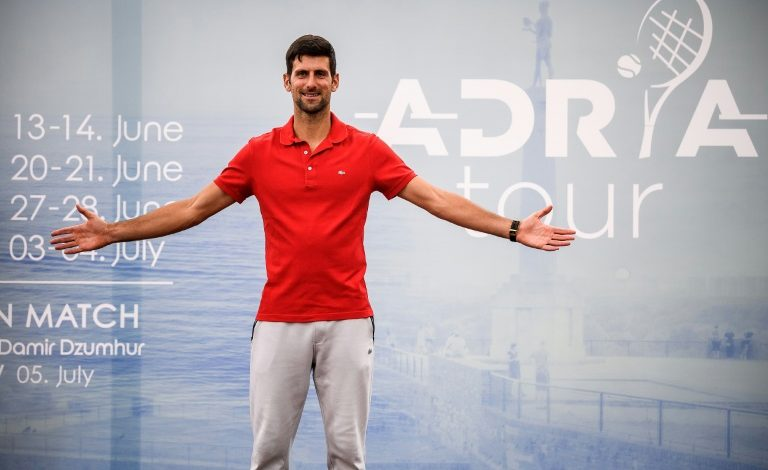 """Djokovic se inquieta por condiciones sanitarias """"imposibles"""" del US Open"""
