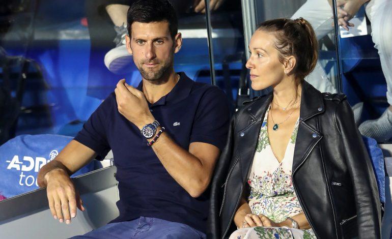 Djokovic y su esposa dan negativo por COVID-19