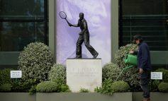 Silencio en el que hubiera sido el primer día de Wimbledon