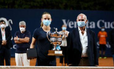 En el regreso de la WTA, Fiona Ferro primera campeona en cinco meses