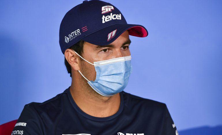 Recuperado de COVID-19, Pérez regresa para GP de España