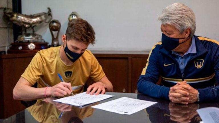Pumas anuncia al uruguayo Facundo Waller como refuerzo