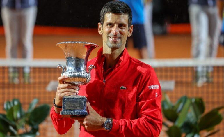 Djokovic logra en Roma su título 36 de Masters 1000
