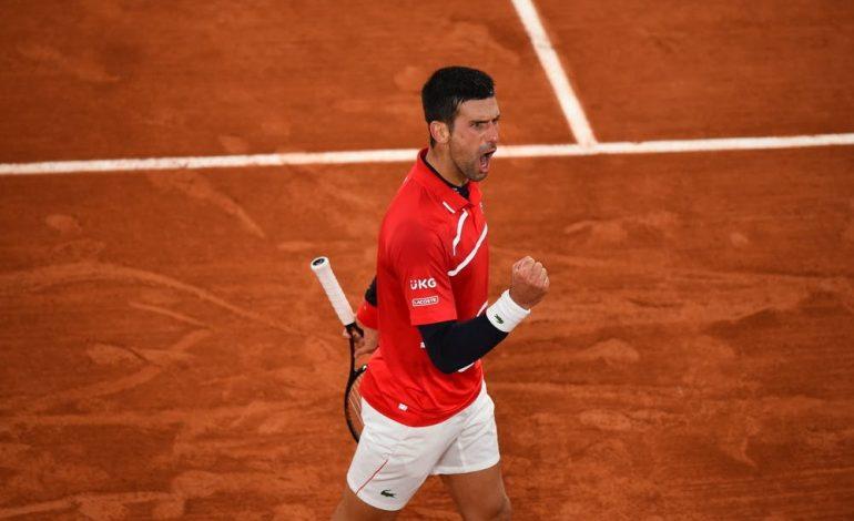 Djokovic sigue avanzando en Roland Garros