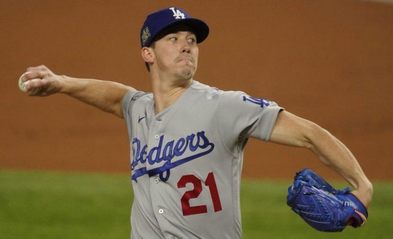 Dodgers aventajan a Rays en Serie Mundial de béisbol