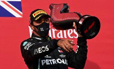 Hamilton gana en Imola y Mercedes logra título de constructores