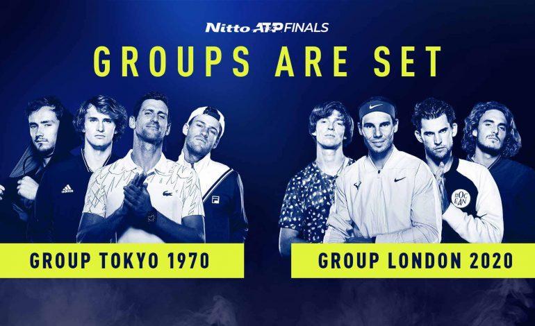 Campeón defensor Tsitsipas enfrentará a Nadal en fase grupos ATP Finals