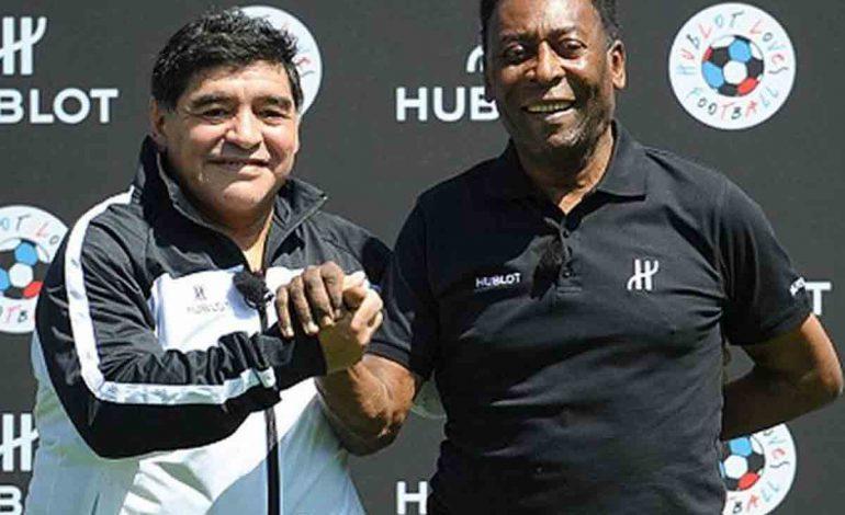 """Maradona y Pelé lideran el """"Dream Team"""" de todos los tiempos"""