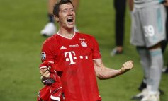Lewandowski supera a Messi y Ronaldo para llevarse premio The Best de la FIFA