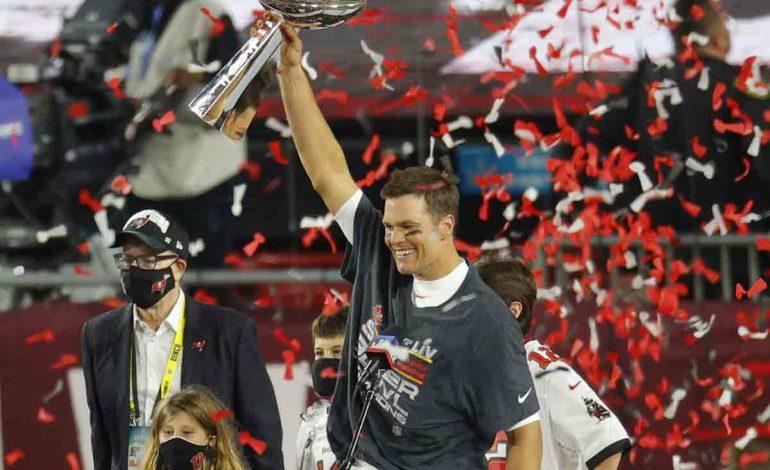 Brady conquista su séptimo Super Bowl, Bucs vencen 31-9 a Chiefs