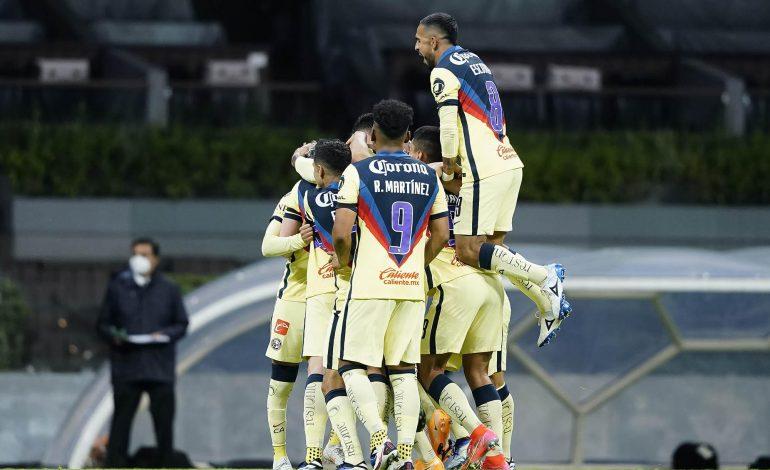 América vence a un desinflado León y es líder de la Liga MX